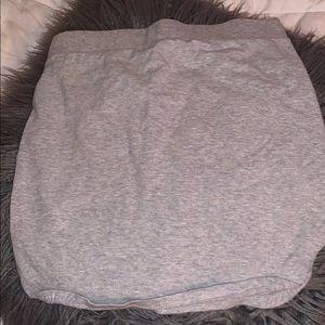Forever 21 grey mini skirt
